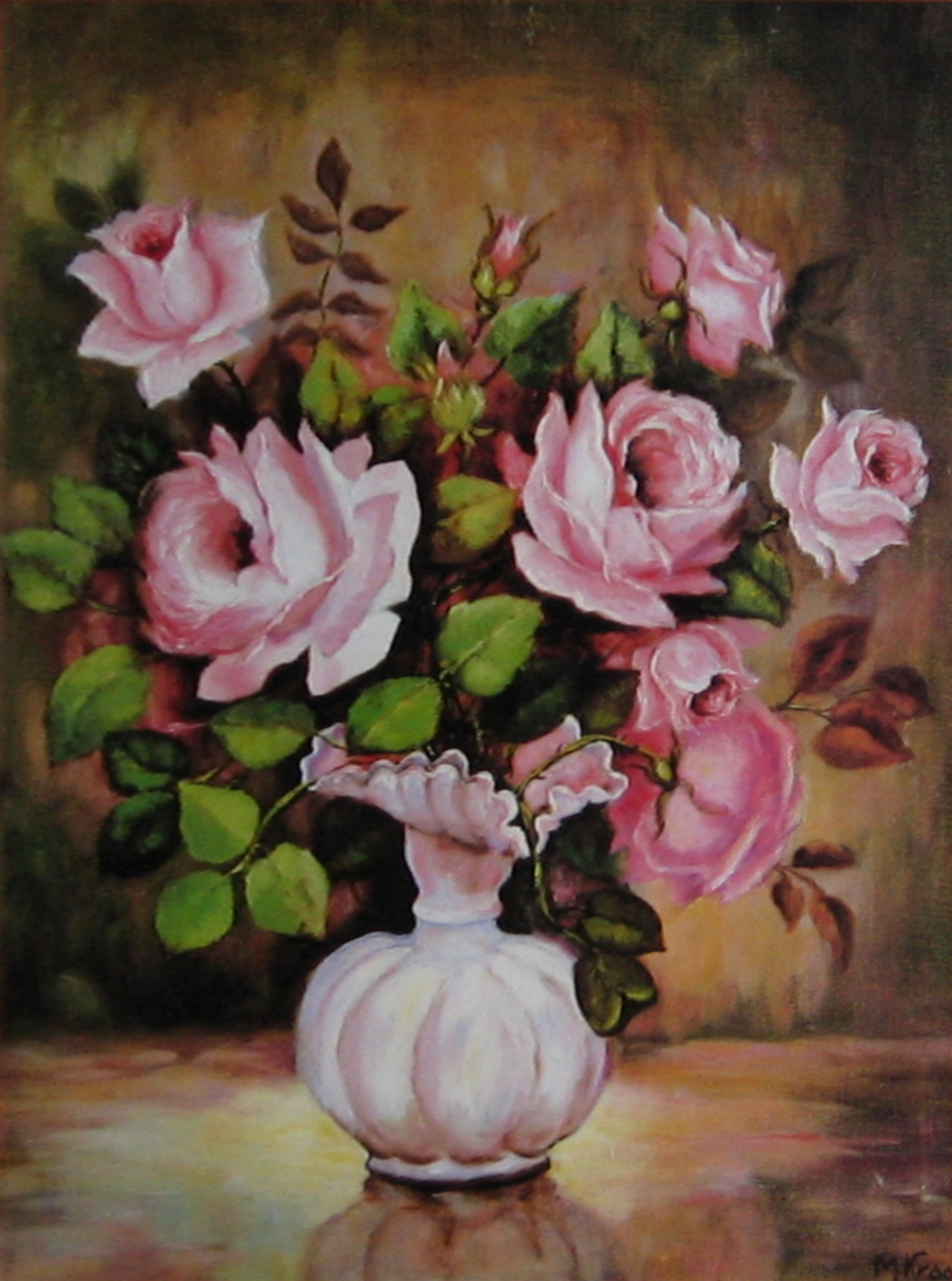 File Painting of flowers Wikimedia mons