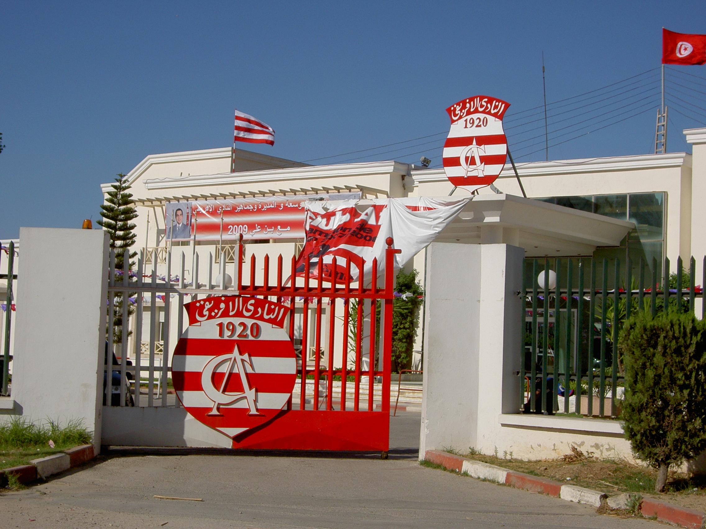 Der Palast von Club Africain :o