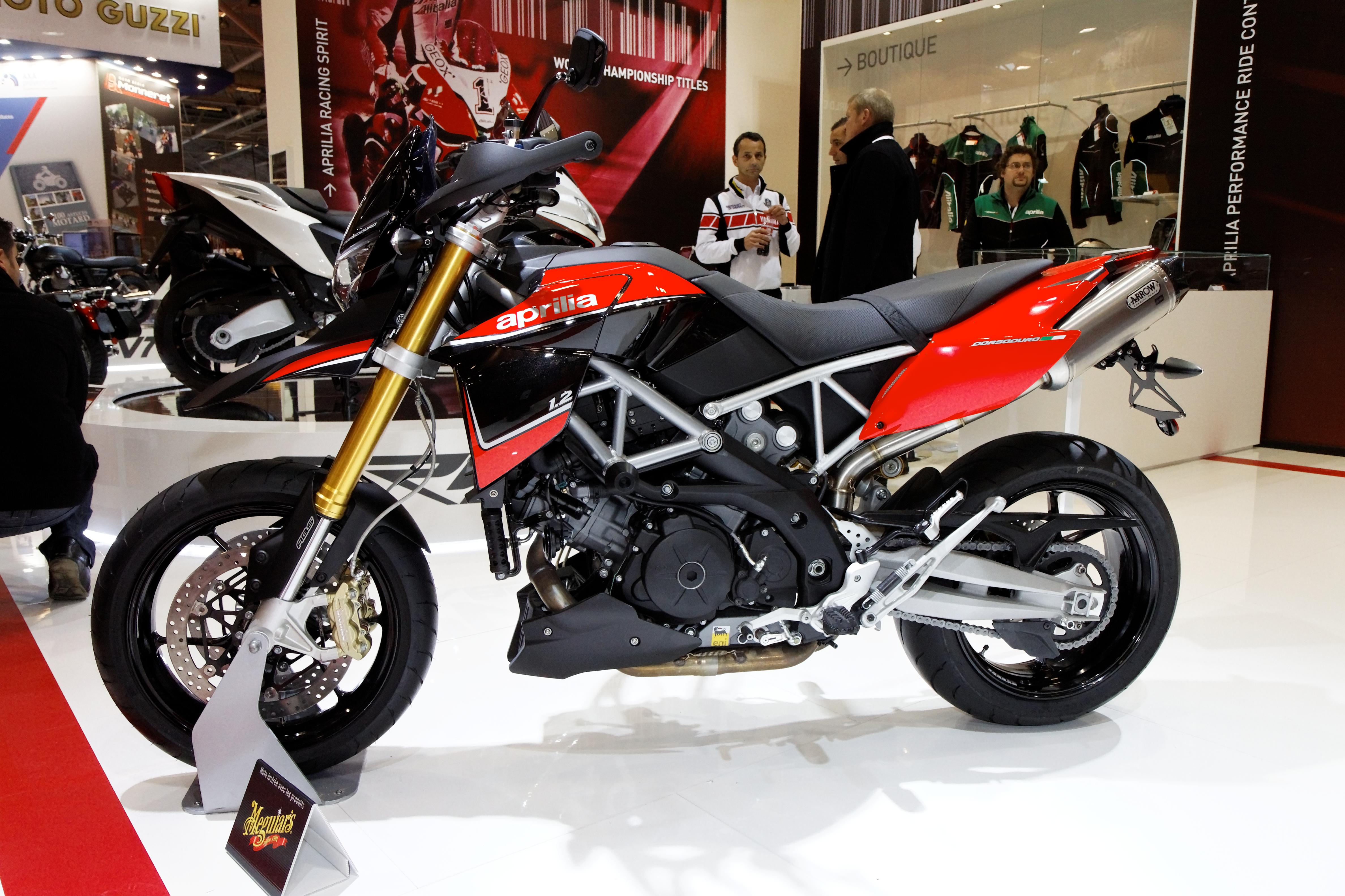File paris salon de la moto 2011 aprilia dorsoduro - Salon de la moto 2014 ...