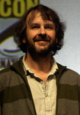 Peter Jackson promoting the 2009 film District...