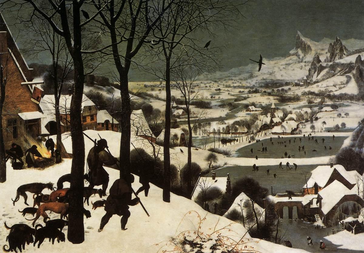 [peinture] Vos oeuvres préférées Pieter_Bruegel_the_Elder_-_The_Hunters_in_the_Snow_%28January%29_-_WGA3434