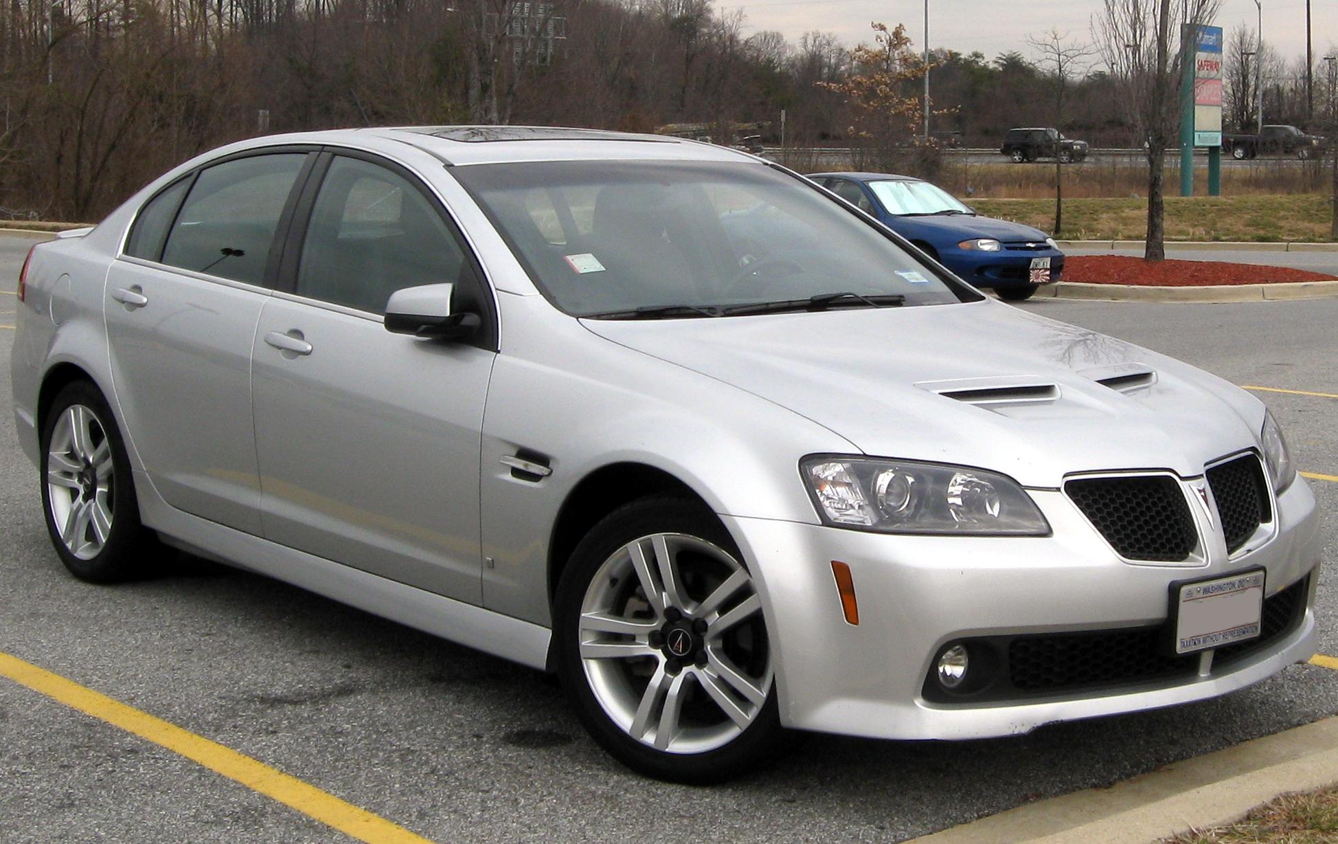 Pontiac G8 - Wikipedia