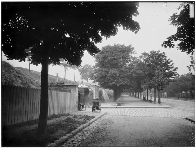 Fichier:Porte de Gentilly - Porte - Paris 13 - Médiathèque de l'architecture et du patrimoine - APMH00037740.jpg