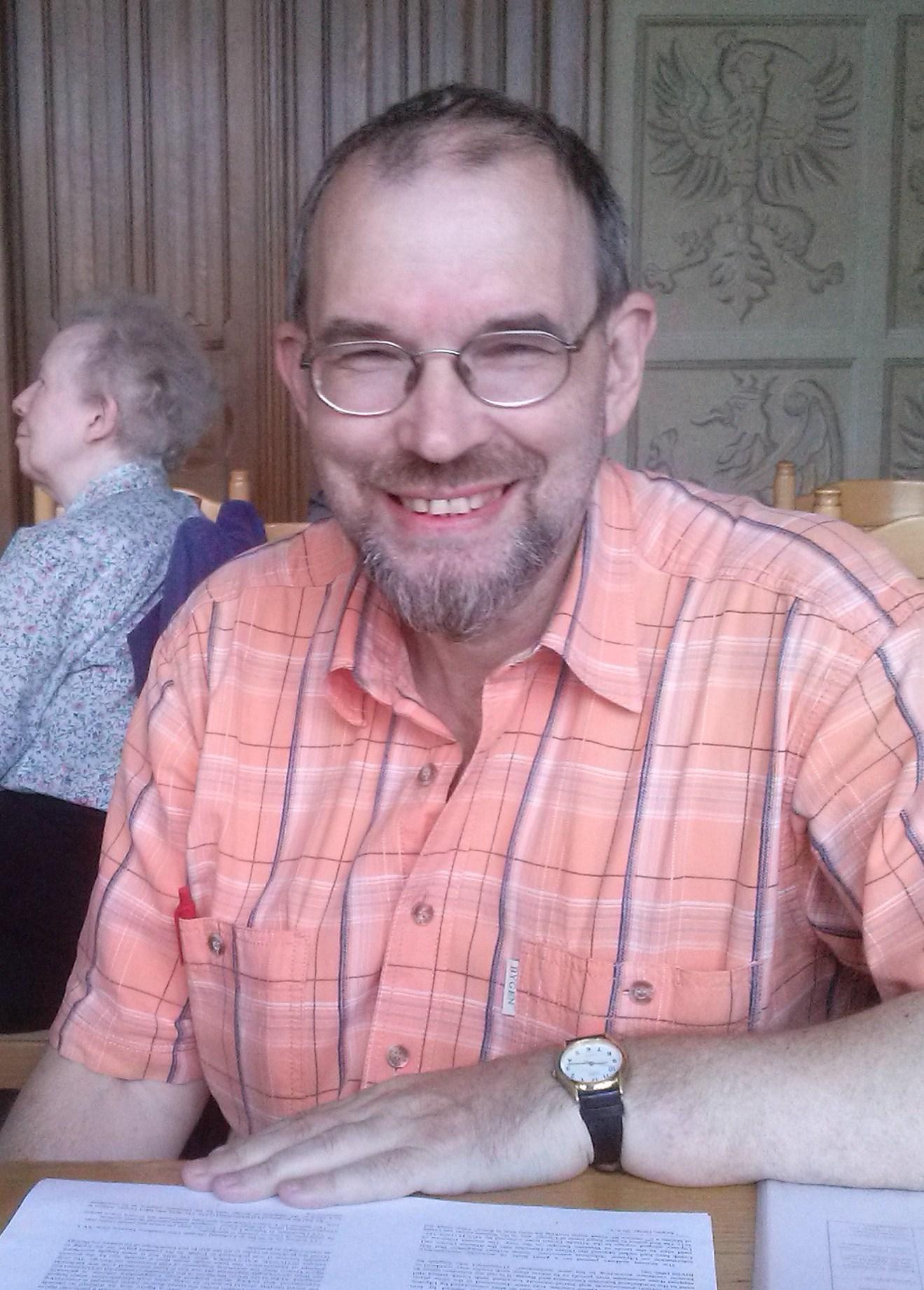 Prof. Václav Blažek in Toruń, Poland (June 2015)