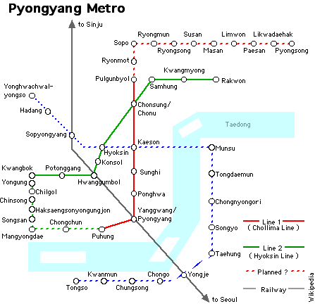 pyongyang map with File Pyongyang Metro Map 1 on Korea North Subway Map also How Iran And North Korea Became Cyber Terror Buddies as well 48358820 likewise Guerre de core furthermore LocationPhotoDirectLink G294443 D324936 I75227049 Mount Kumgang North Korea.