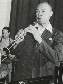 Edmond Hall American jazz clarinetist and bandleader