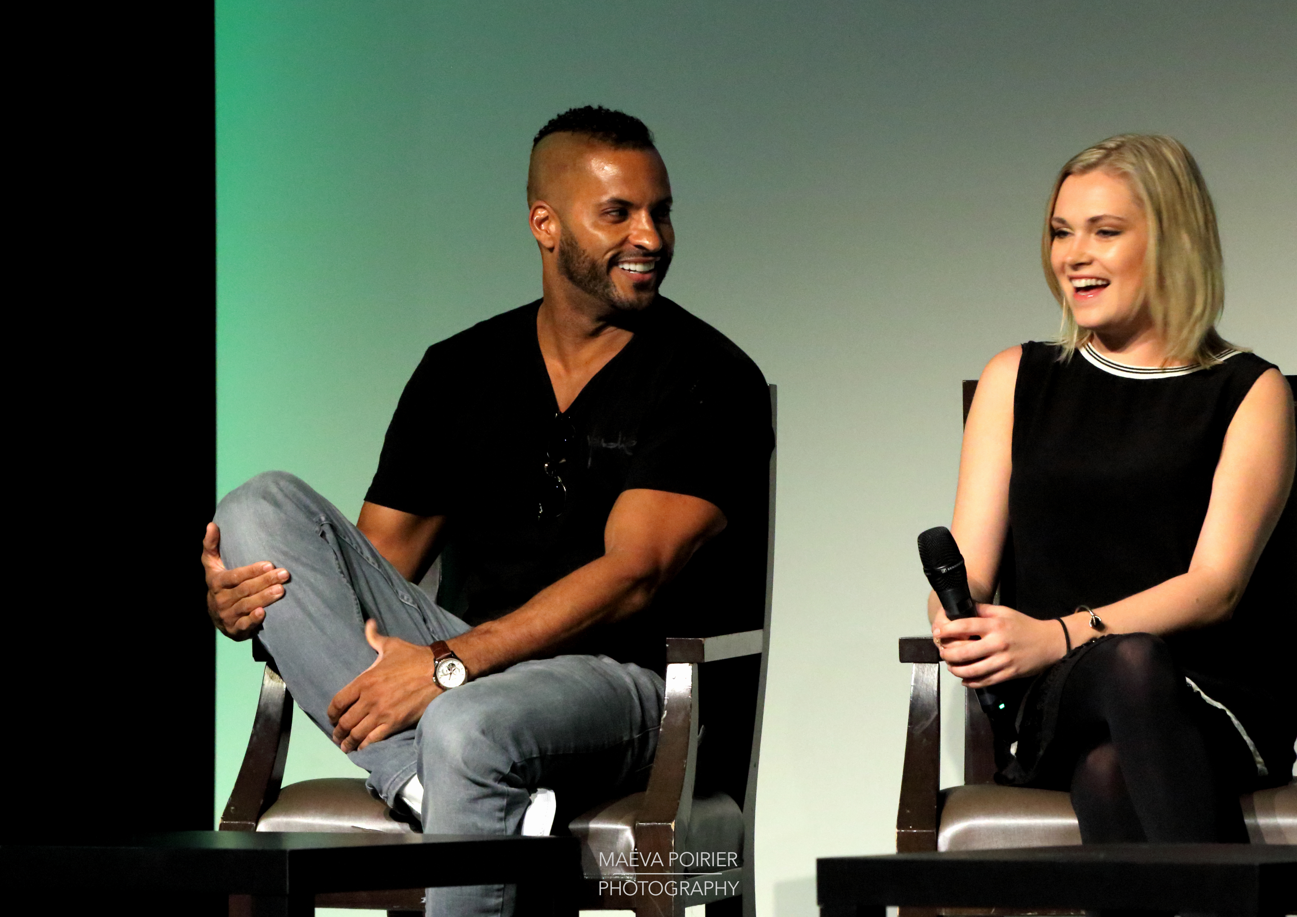 Ricky Whittle Wife