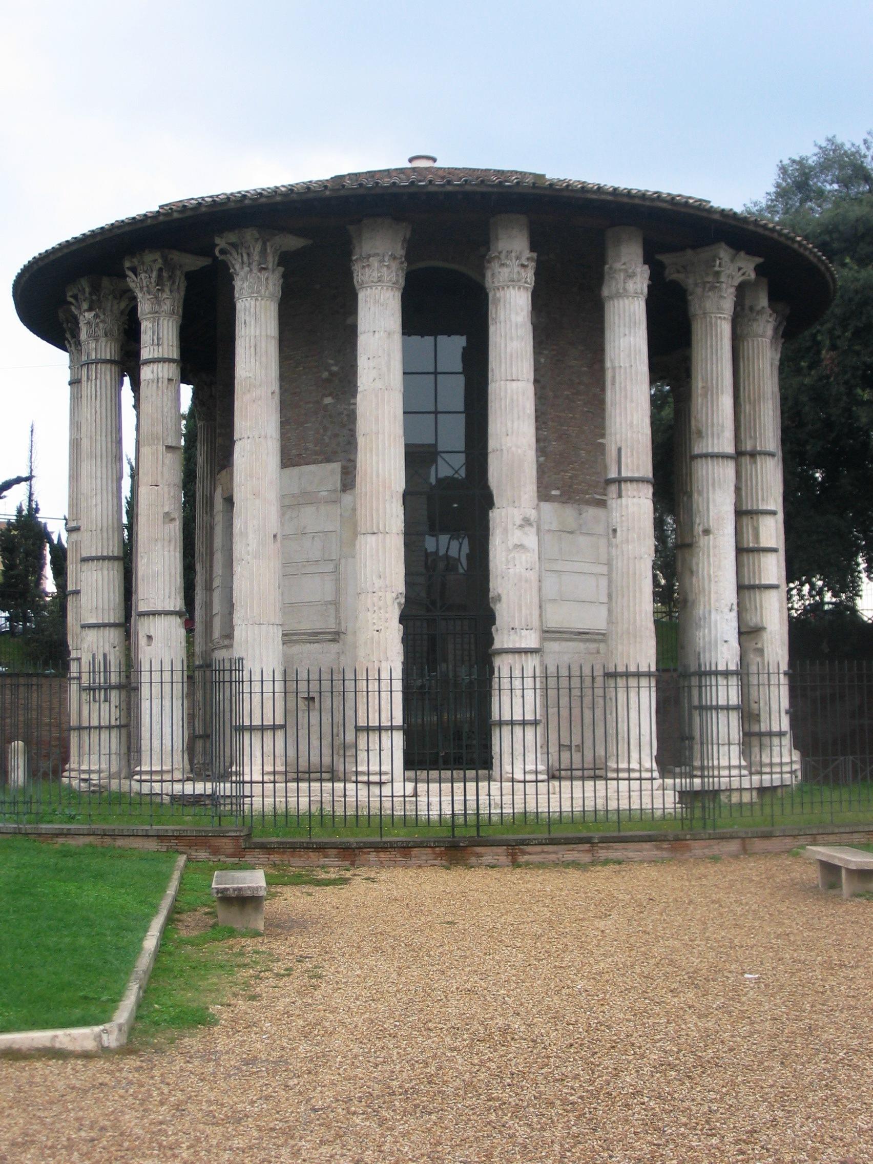 Religijska kulturna bastina kroz vekove Roma_-_tempio_di_ercole