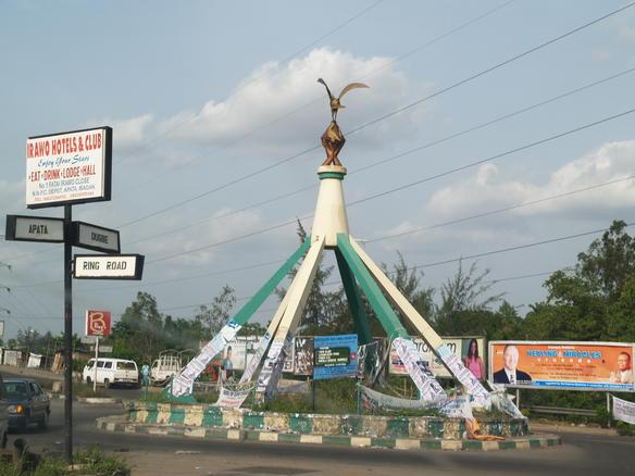 Round about in Ibadan-1, by Adebisi Adewoyin