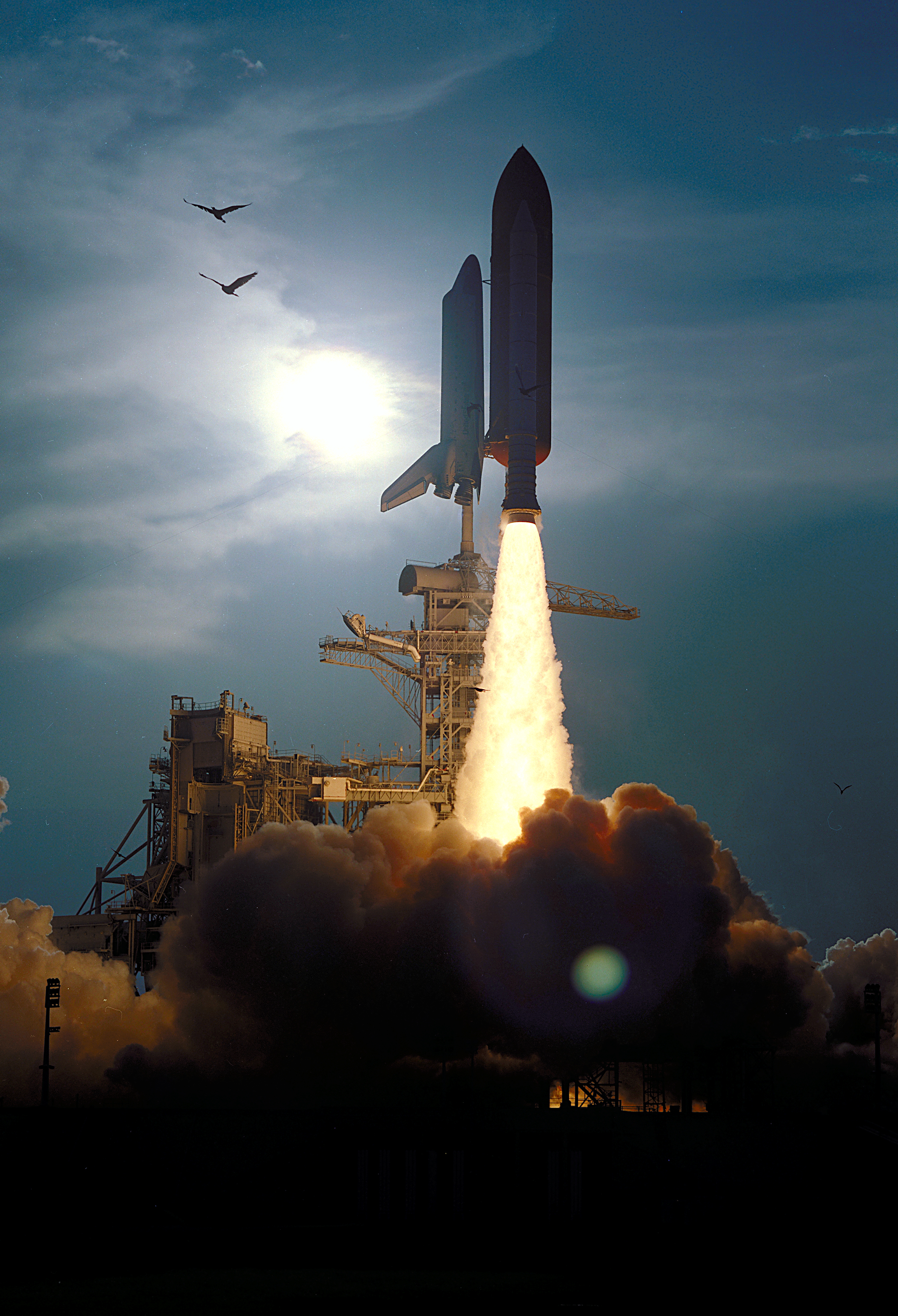 Image result for sts-64 launch