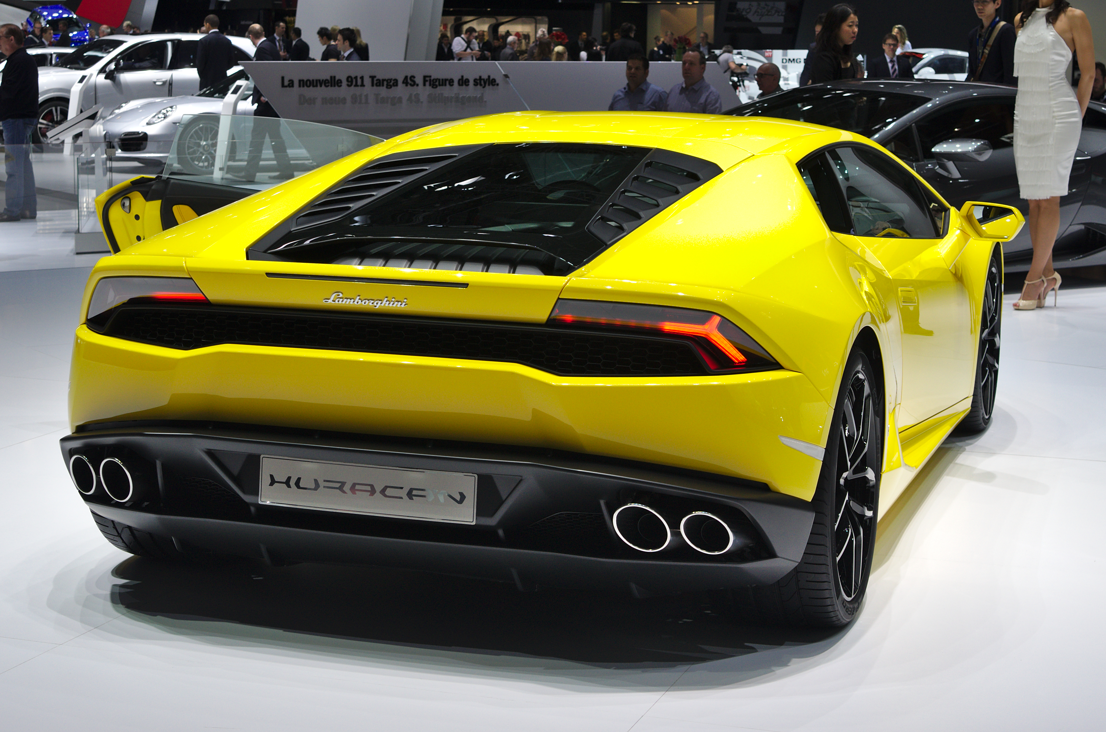salon de l 39 auto de gen ve 2014 20140305 lamborghini huracan wikipedia. Black Bedroom Furniture Sets. Home Design Ideas