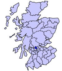 District of Strathkelvin within Scotland