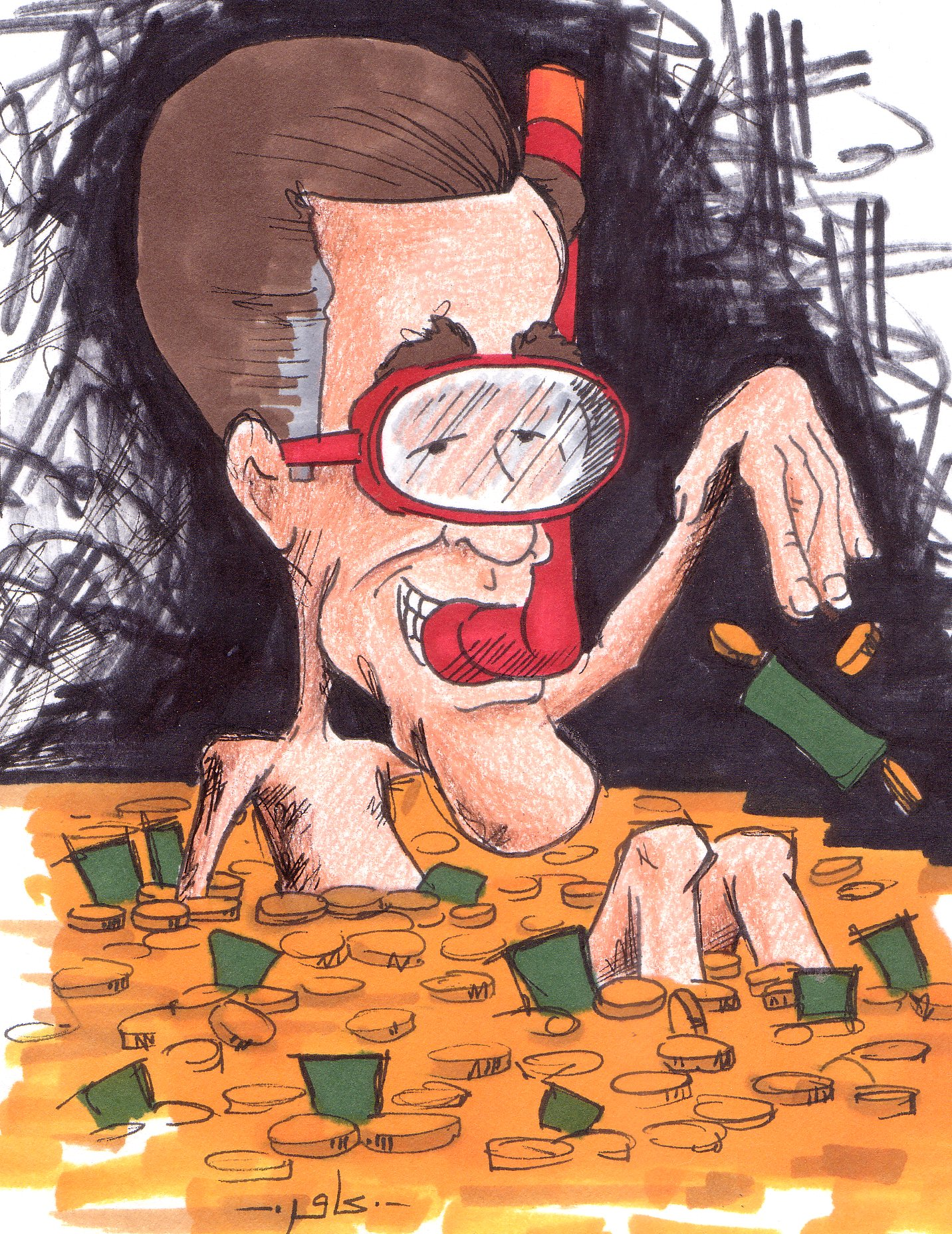 mitt romney cartoon