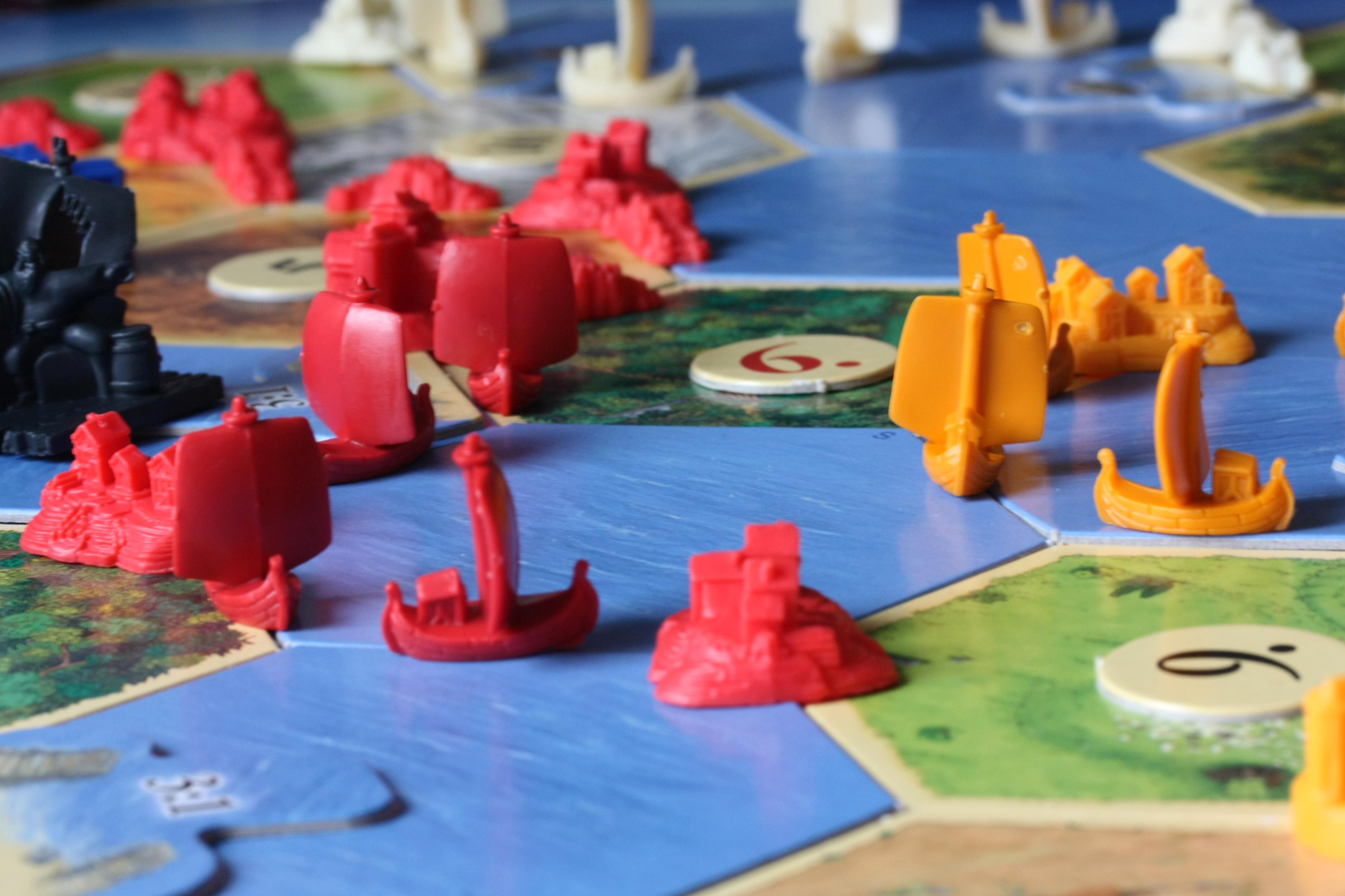 Catan Board Game Award Winning New The Settlers of Catan