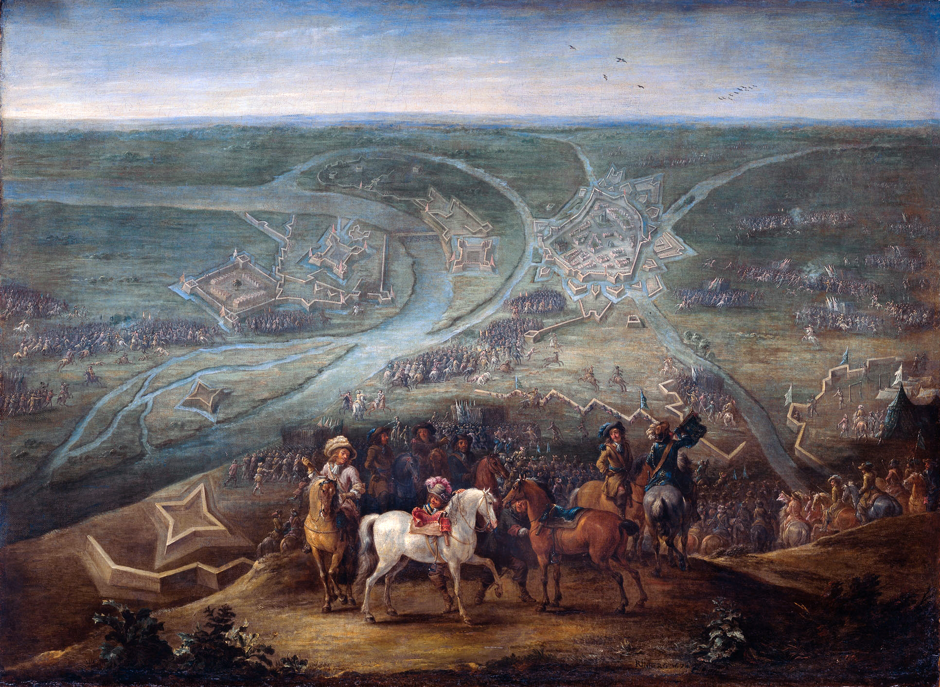 File:Siege of Rheinberg by French forces in 1672 - Het beleg van Rijnberg  door
