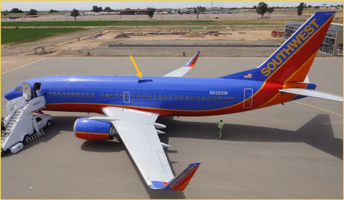 File Southwest Airlines Flight 812 Damaged Aircraft Ntsb