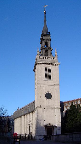 כנסיית סנט אוגוסטין שברחוב ווטלינג