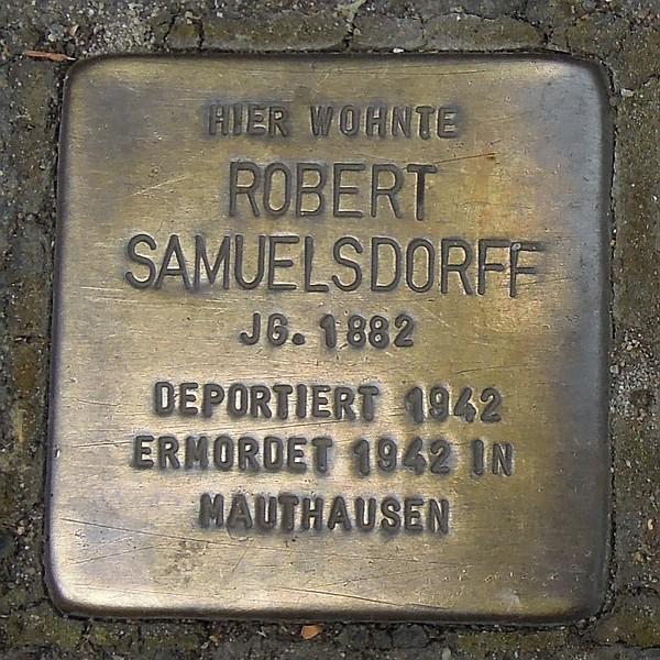 Stolperstein für Robert Samuelsdorff