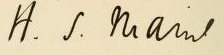 Sumner maine's signature.jpg
