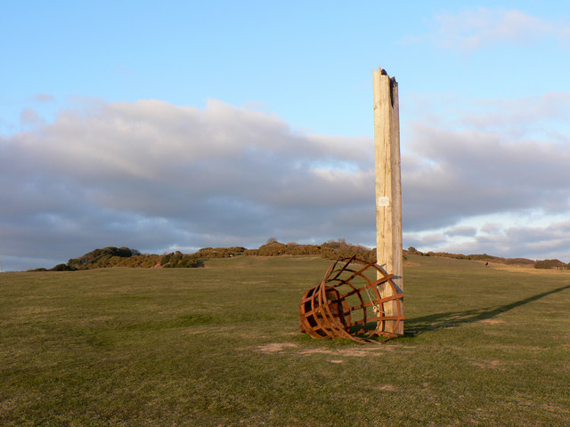 The East Hill Beacon - geograph.org.uk - 139350
