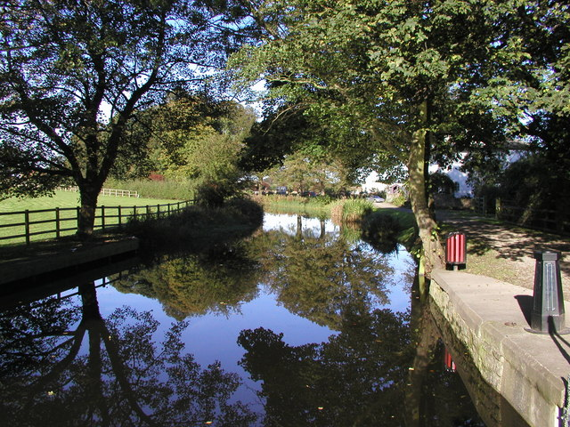 The Ripon Canal above the top lock