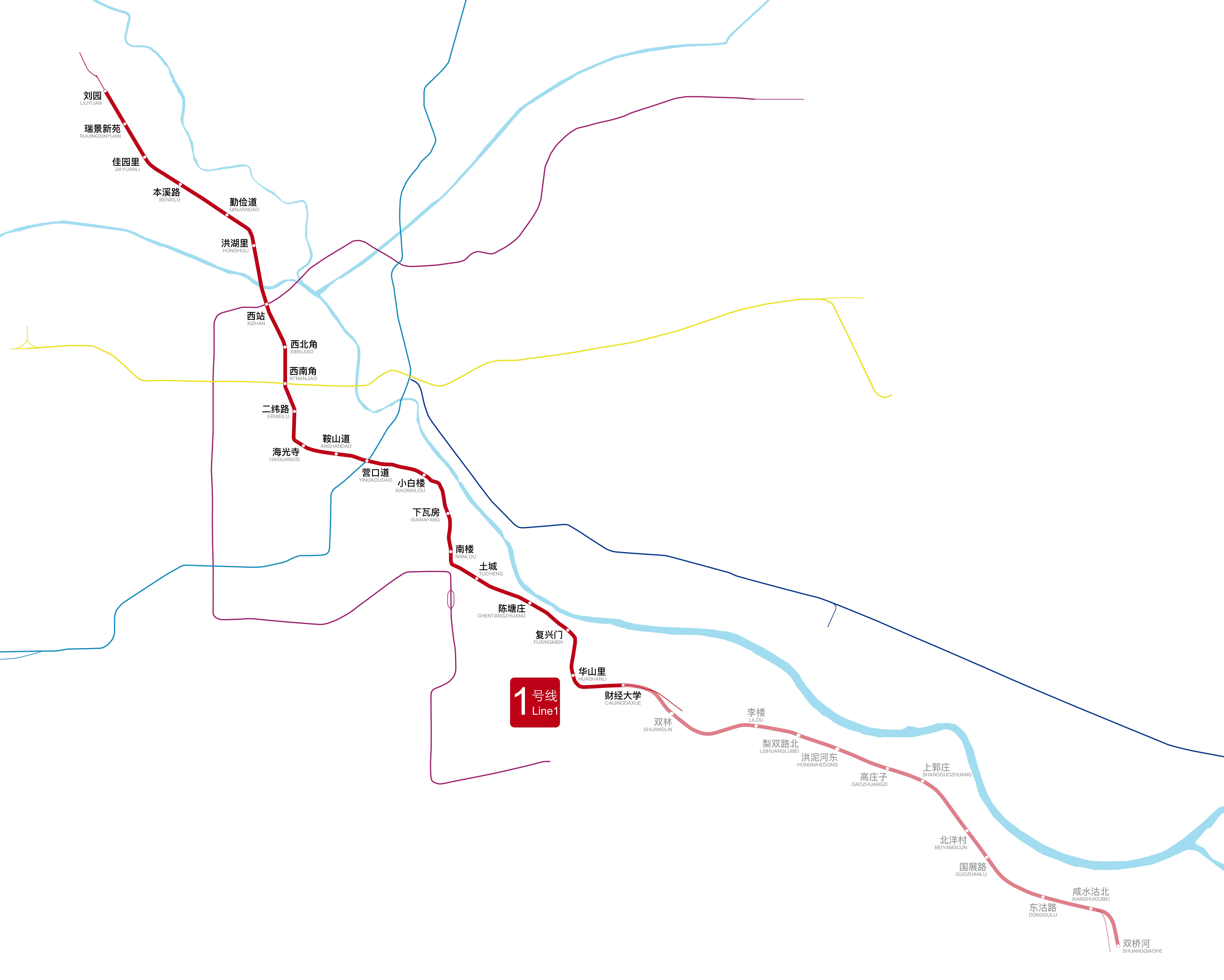Tianjin Subway Map.File Tianjin Metro Map Line1 201806 Png Wikimedia Commons