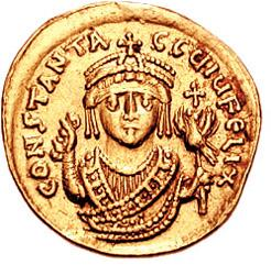 Tiberius II Constantine Byzantine Emperor