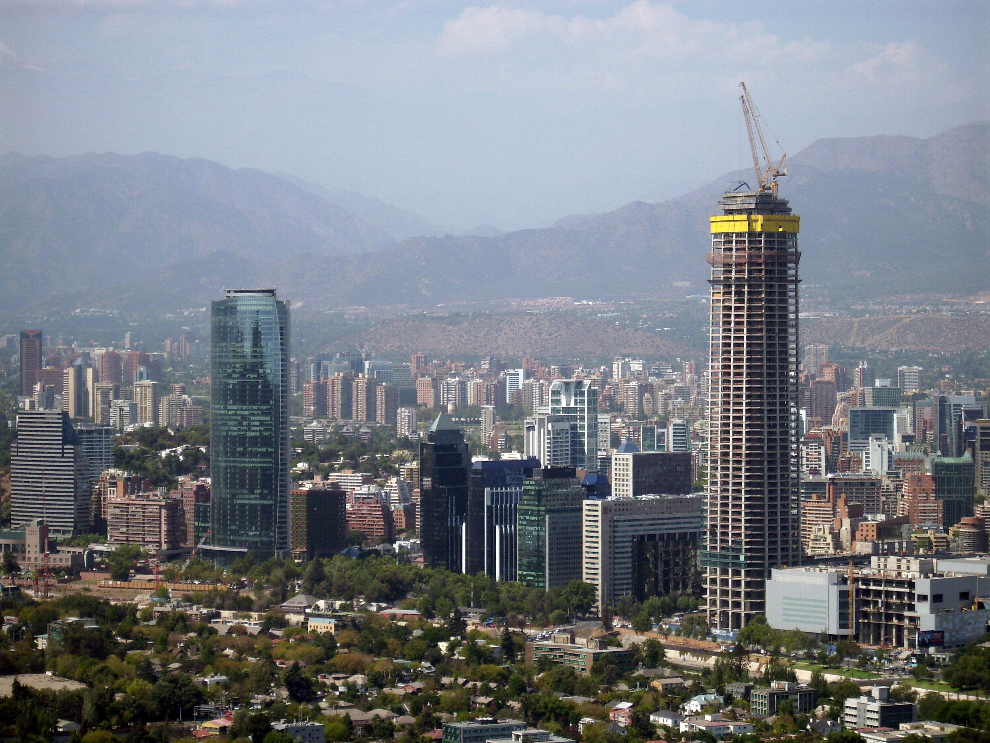 Santiago, Chile. Business District