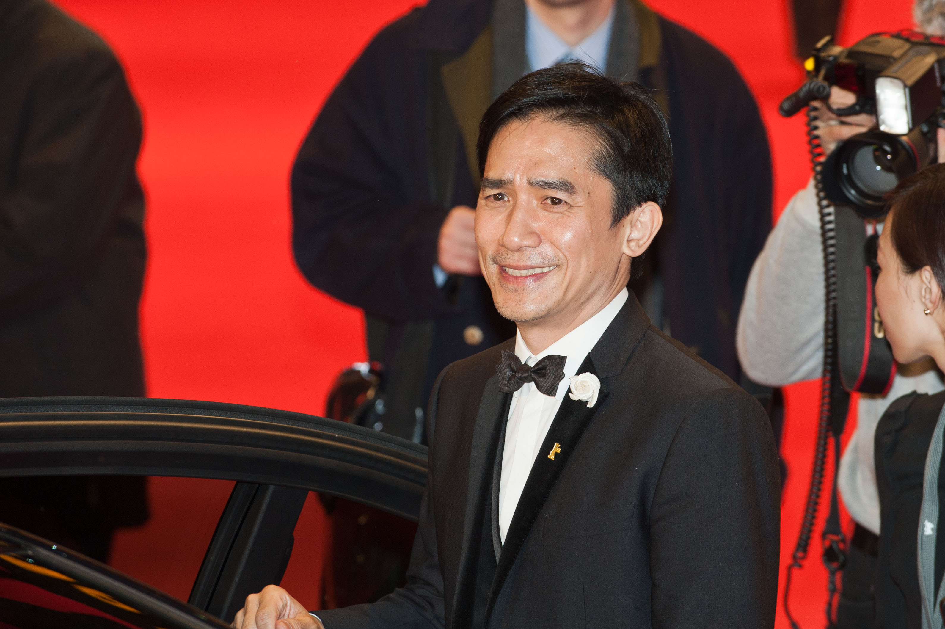 The 56-year old son of father (?) and mother(?) Tony Leung in 2018 photo. Tony Leung earned a  million dollar salary - leaving the net worth at 20 million in 2018