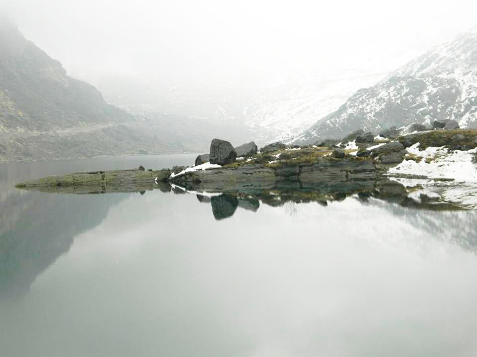 Tsomgo Lake, one of the Honeymoon destinations in Sikkim