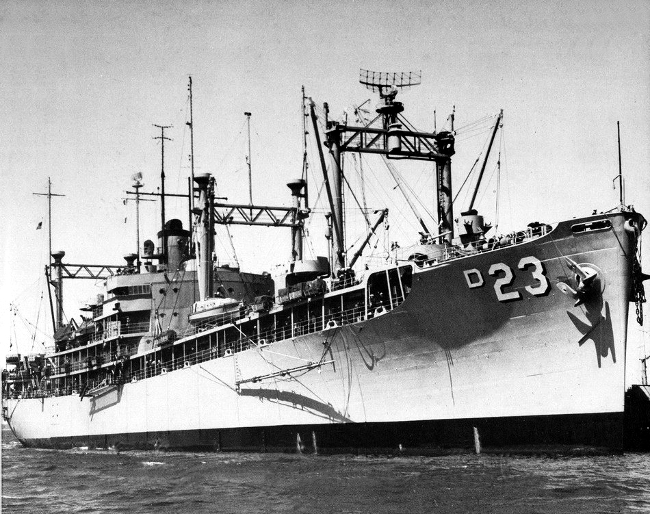 USS Arcadia (AD-23) - Wikipedia