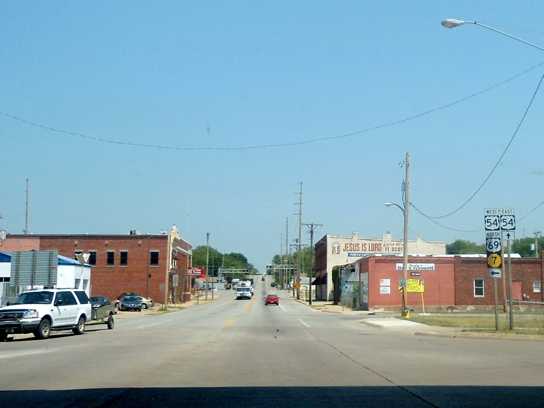 Fort Scott Ks >> File Us 54 In Fort Scott Kansas Jpg Wikipedia