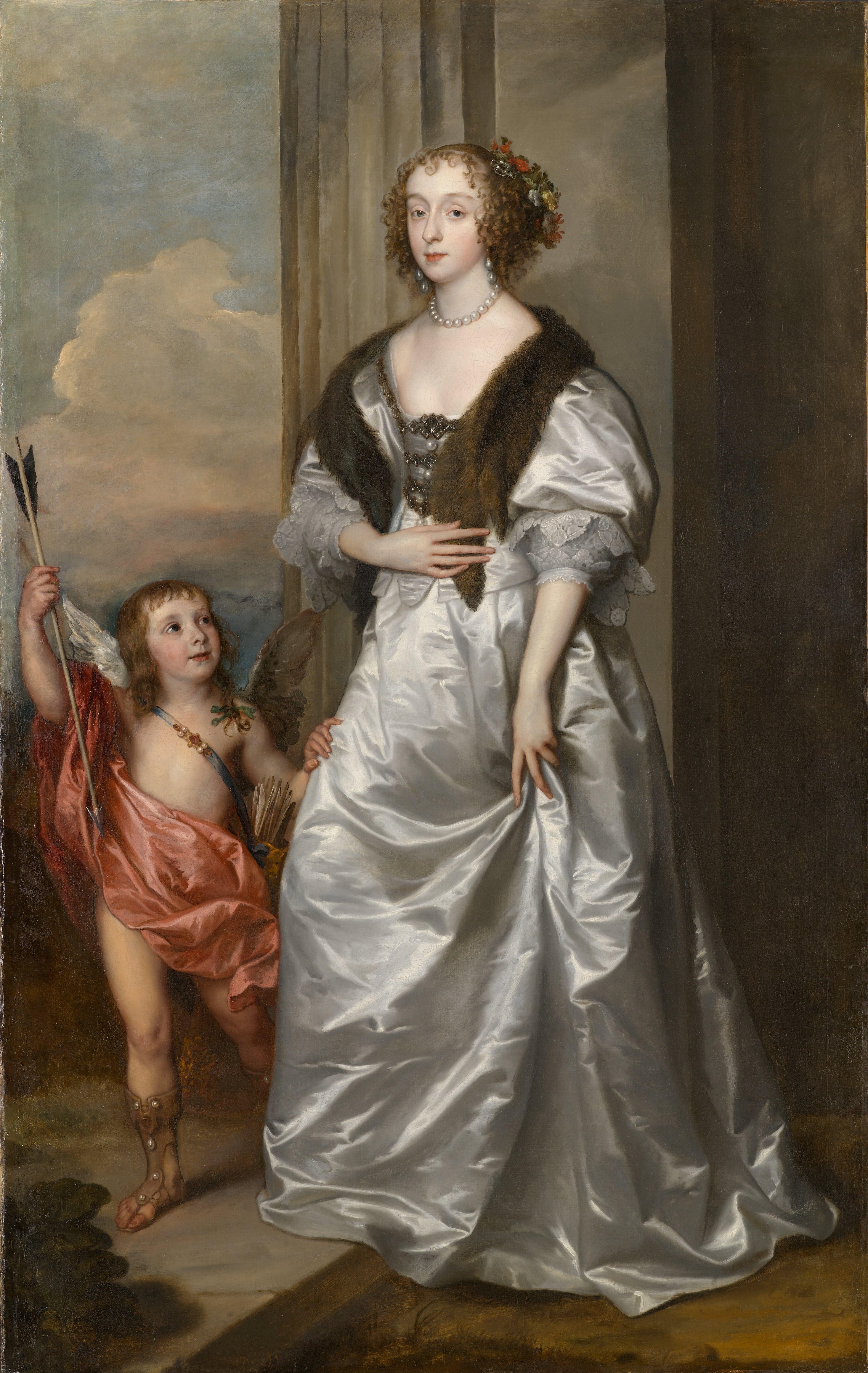 Van Dyck Mary Villiers as Venus.jpg