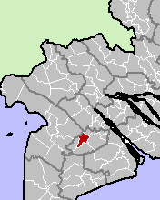 Location in Hau Giang Province