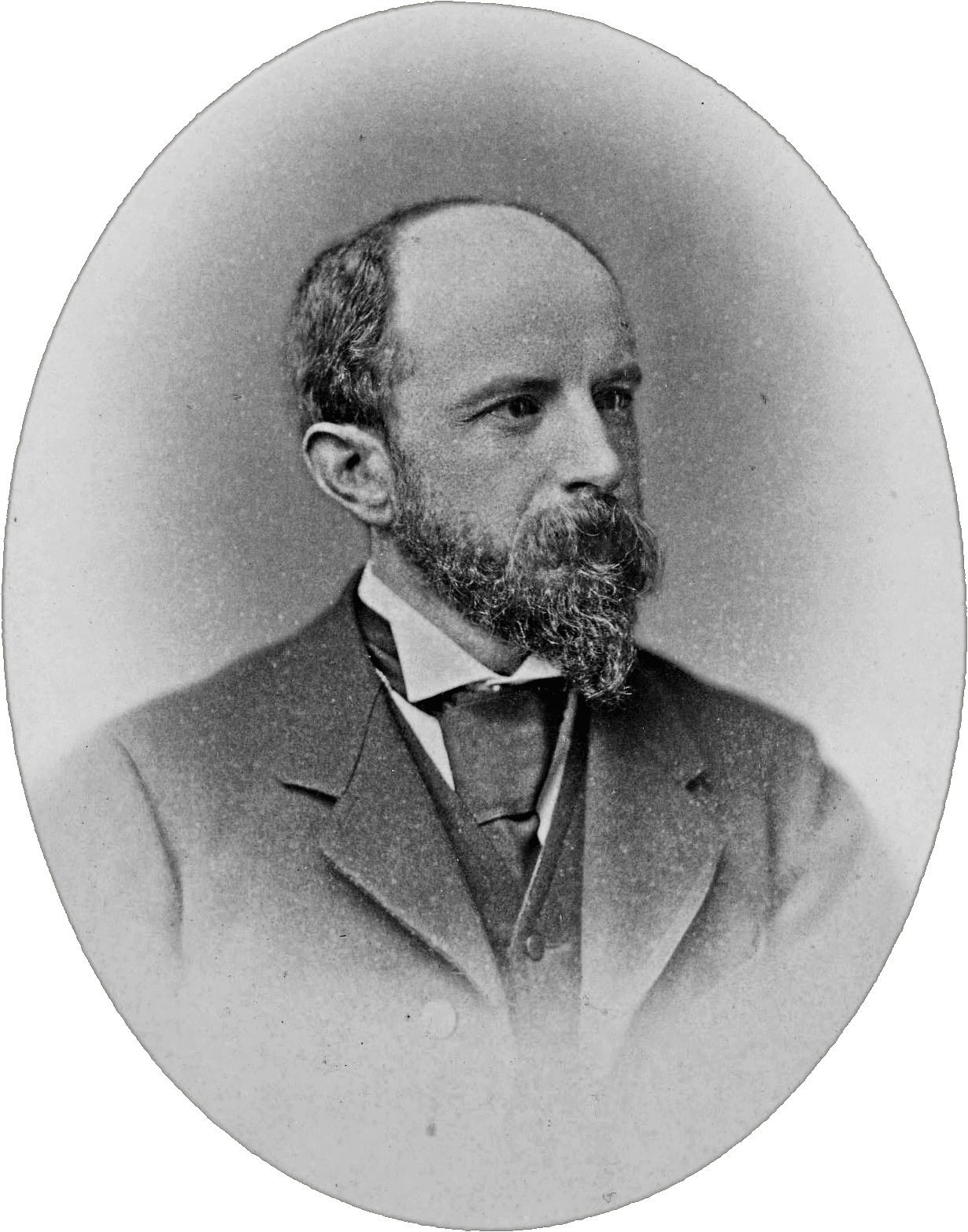 1885 photograph of Adams by [[William Notman]]