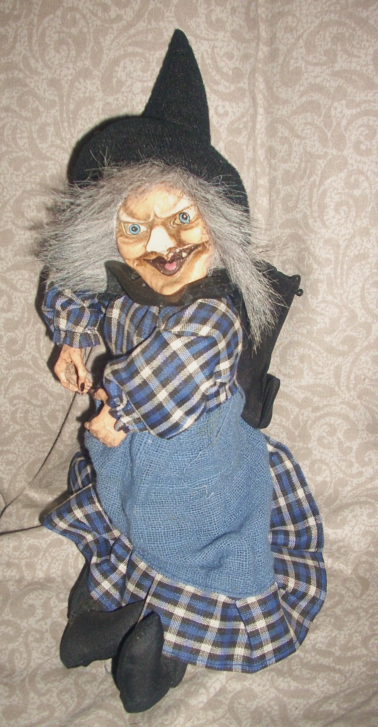 An Italian witch doll, La Befana