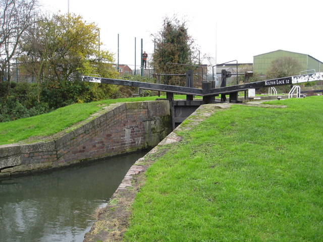 Worksop - Chesterfield Canal (Kilton Lock 52) - geograph.org.uk - 1044476