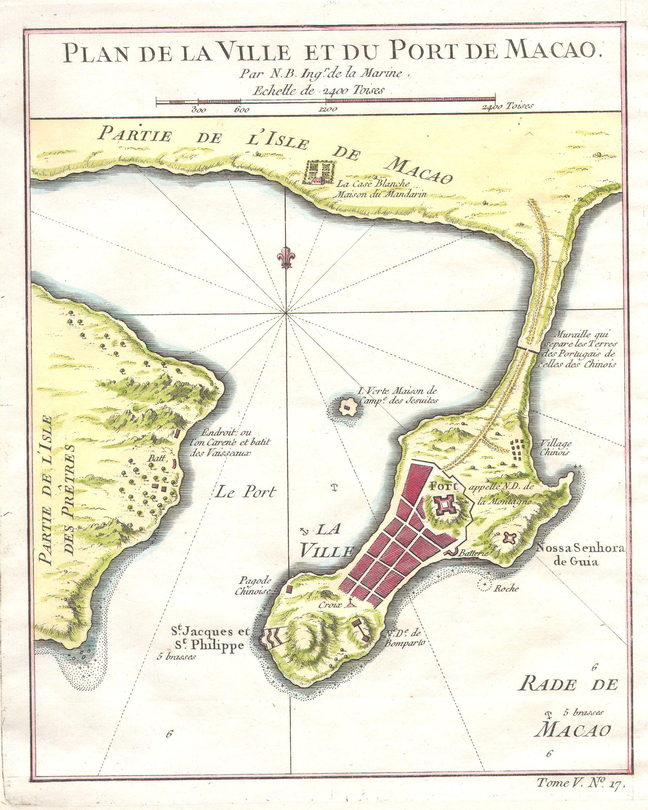 File1764 Bellin Map of Macao Chinajpg Wikimedia Commons