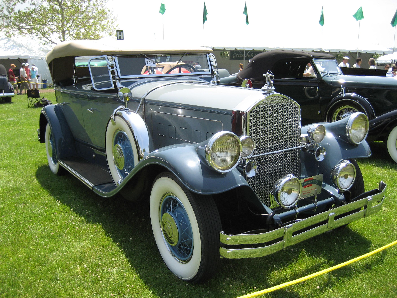 1930 Pierce Arrow Model C Antique Car Magazine