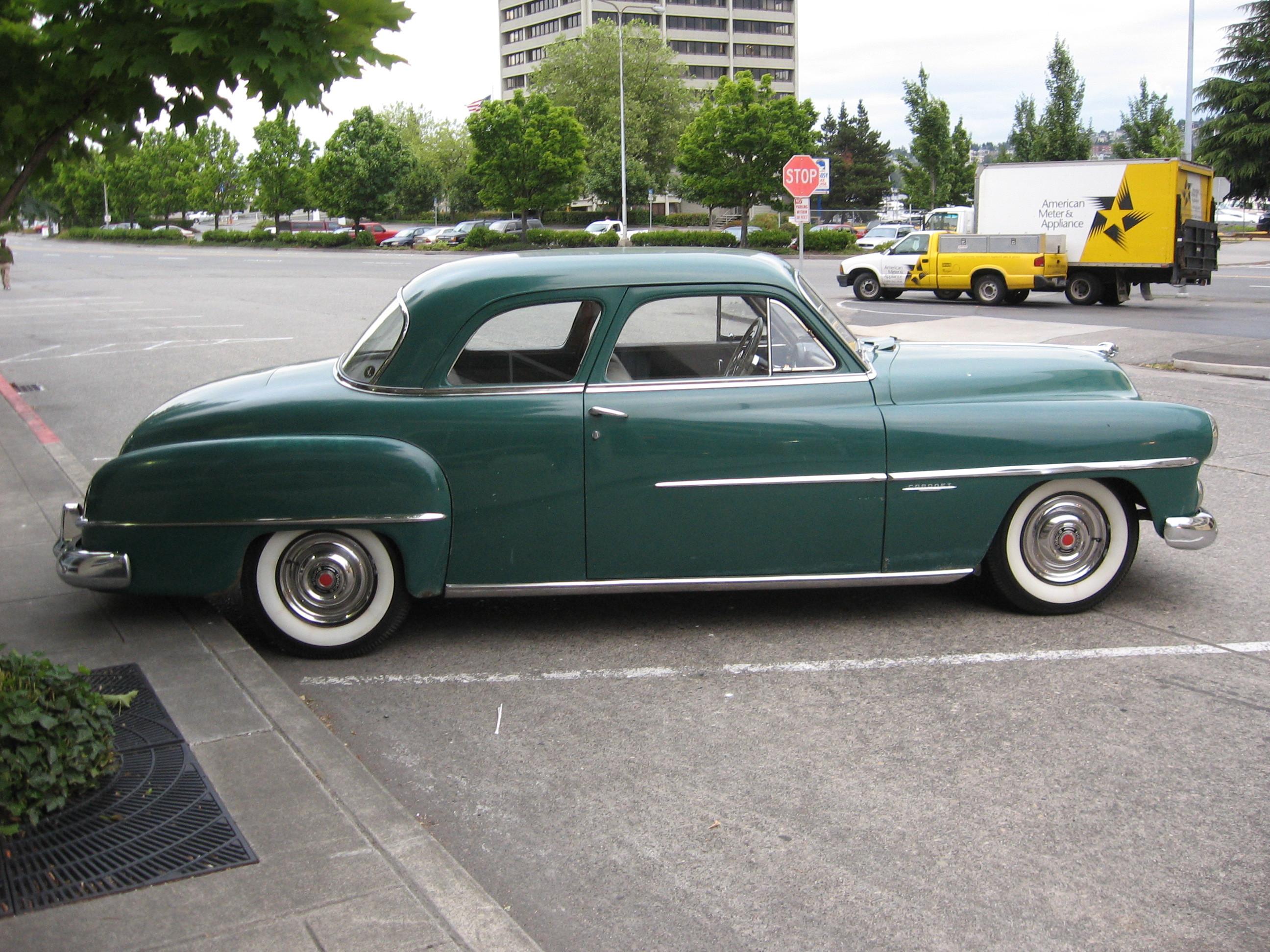 File 1951 Dodge Coronet Coupe Jpg Wikipedia