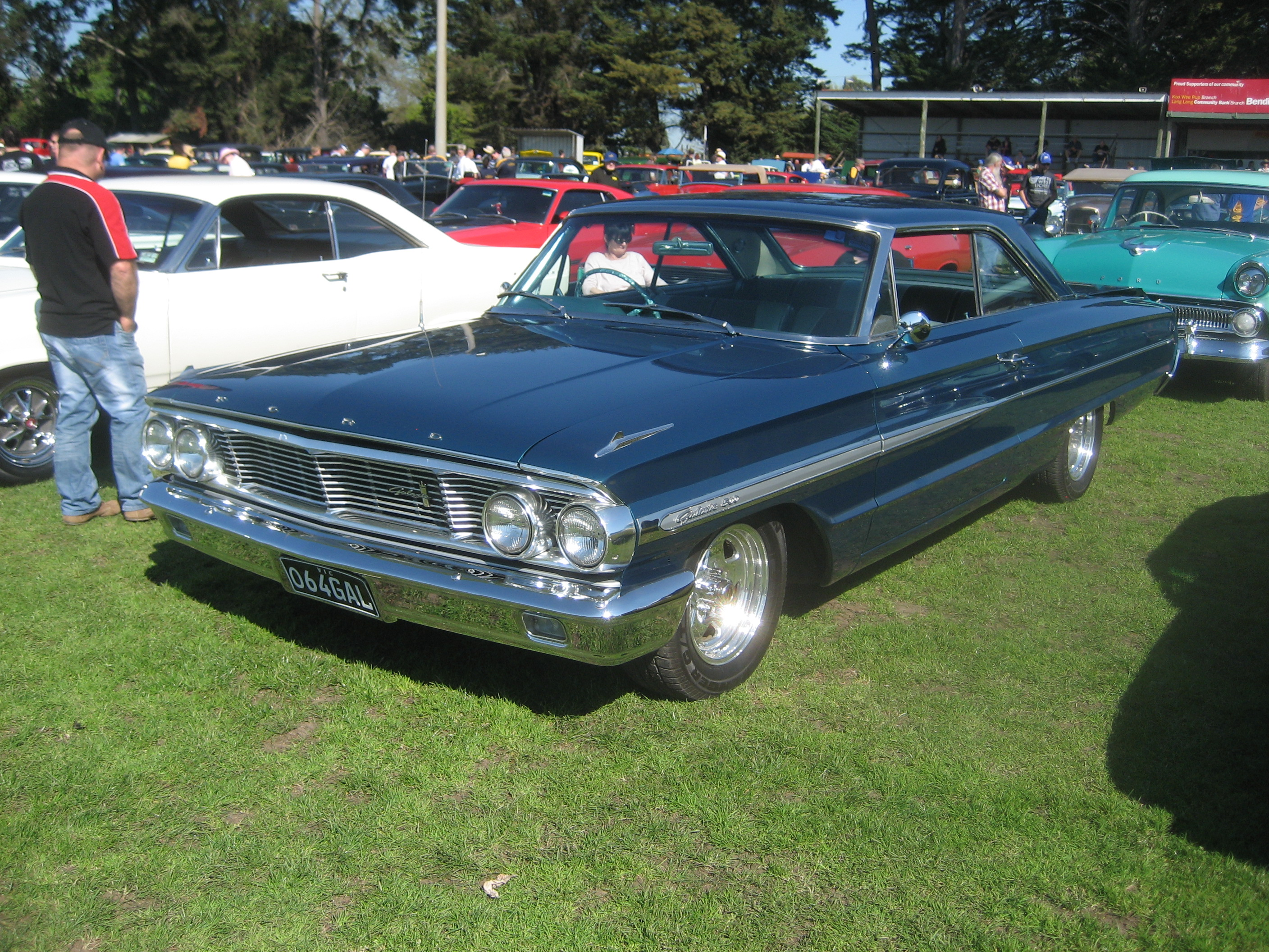 Description 1964 ford galaxie 500 hardtop