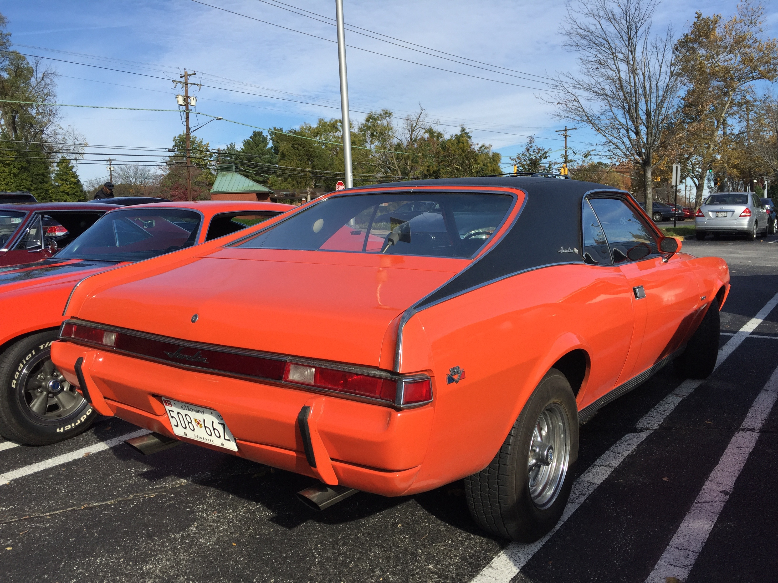 File1969 AMC Javelin SST Big Bad Orange 390 With 4 Speed 2of8