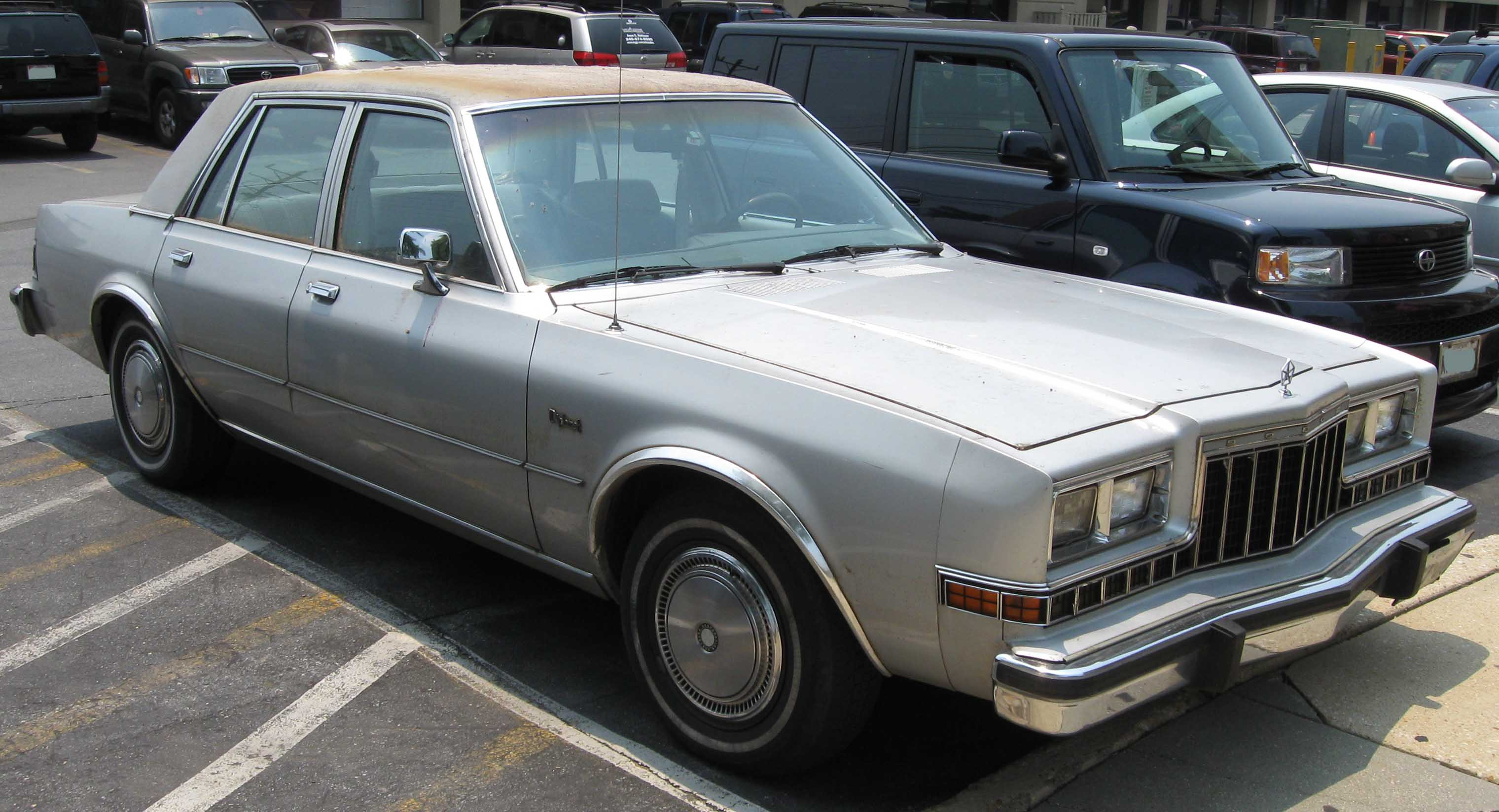 File 1980 1983 Dodge Diplomat 2 Jpg Wikimedia Commons