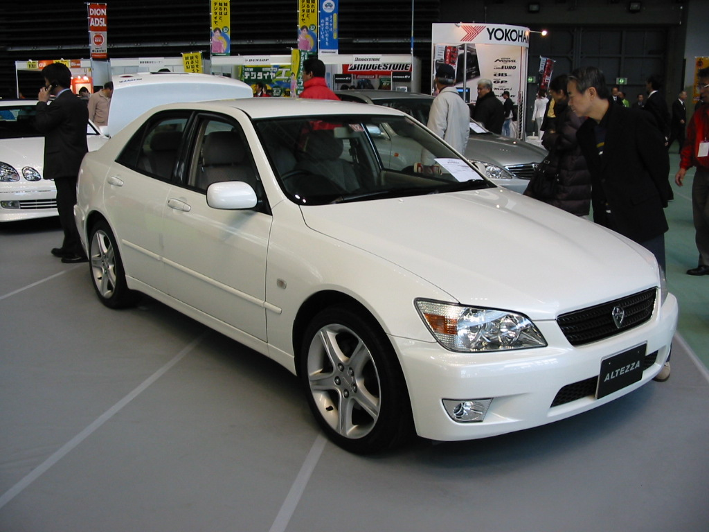 Cars World Toyota Altezza