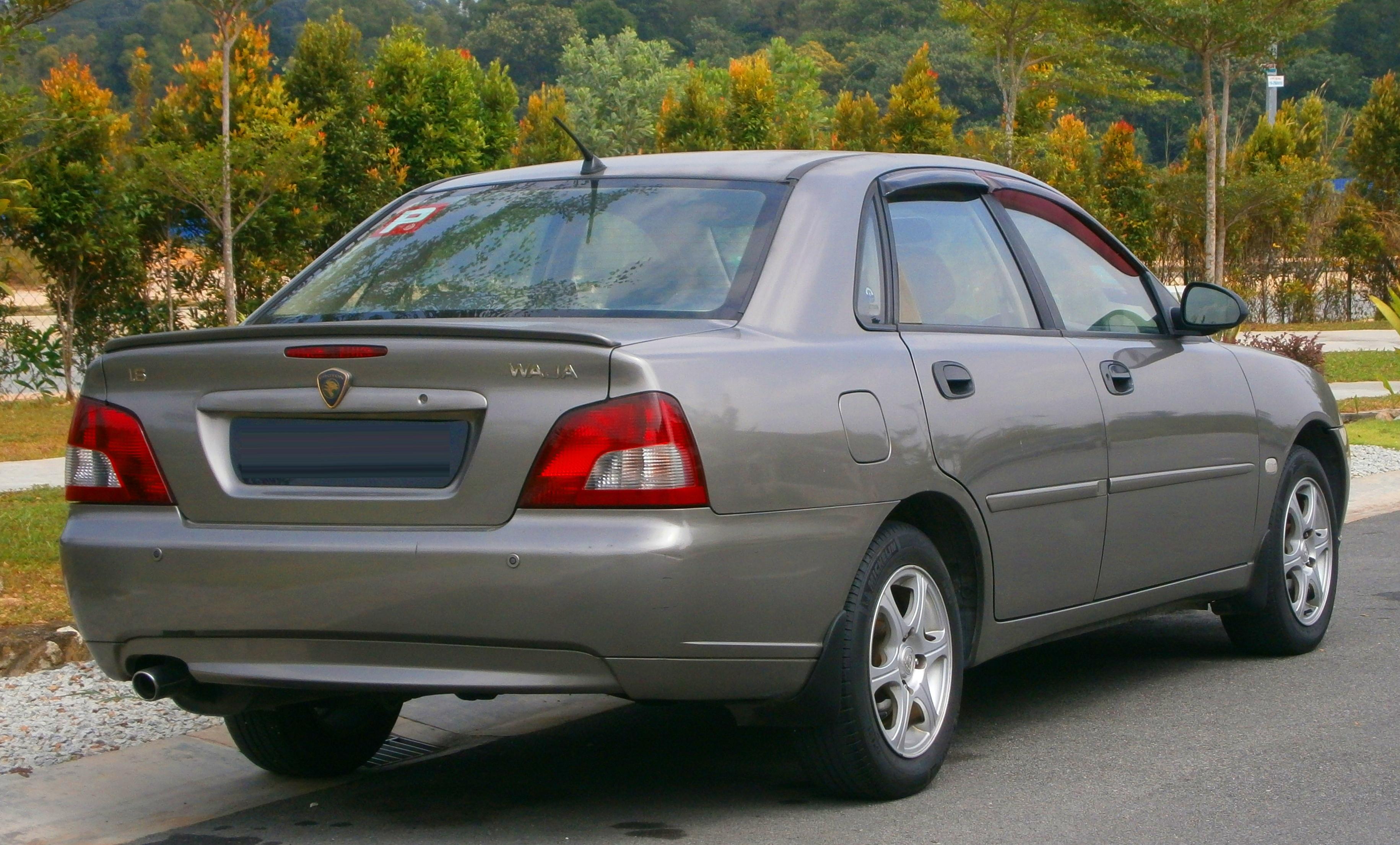 File:2005 Proton Waja 1 6 (4G18) in Puchong, Malaysia (02) jpg