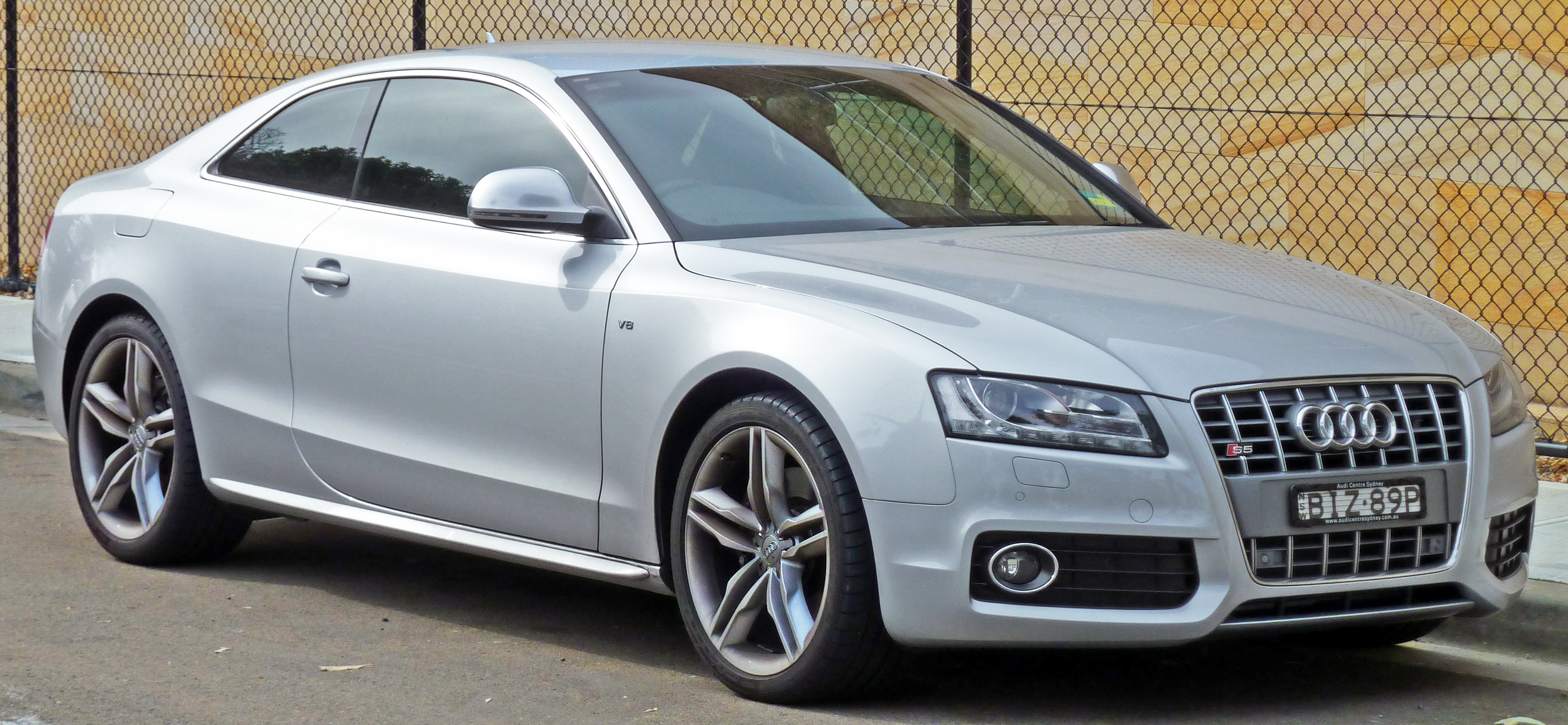 File:2007-2010 Audi S5 (8T) coupe 02.jpg - Wikimedia Commons