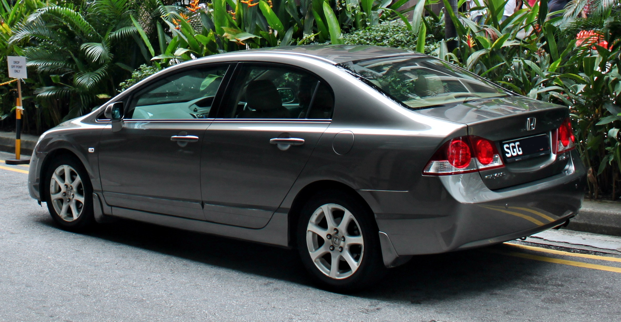 Accord 2013 Coupe >> File:2007 Honda Civic Sedan.JPG - Wikimedia Commons