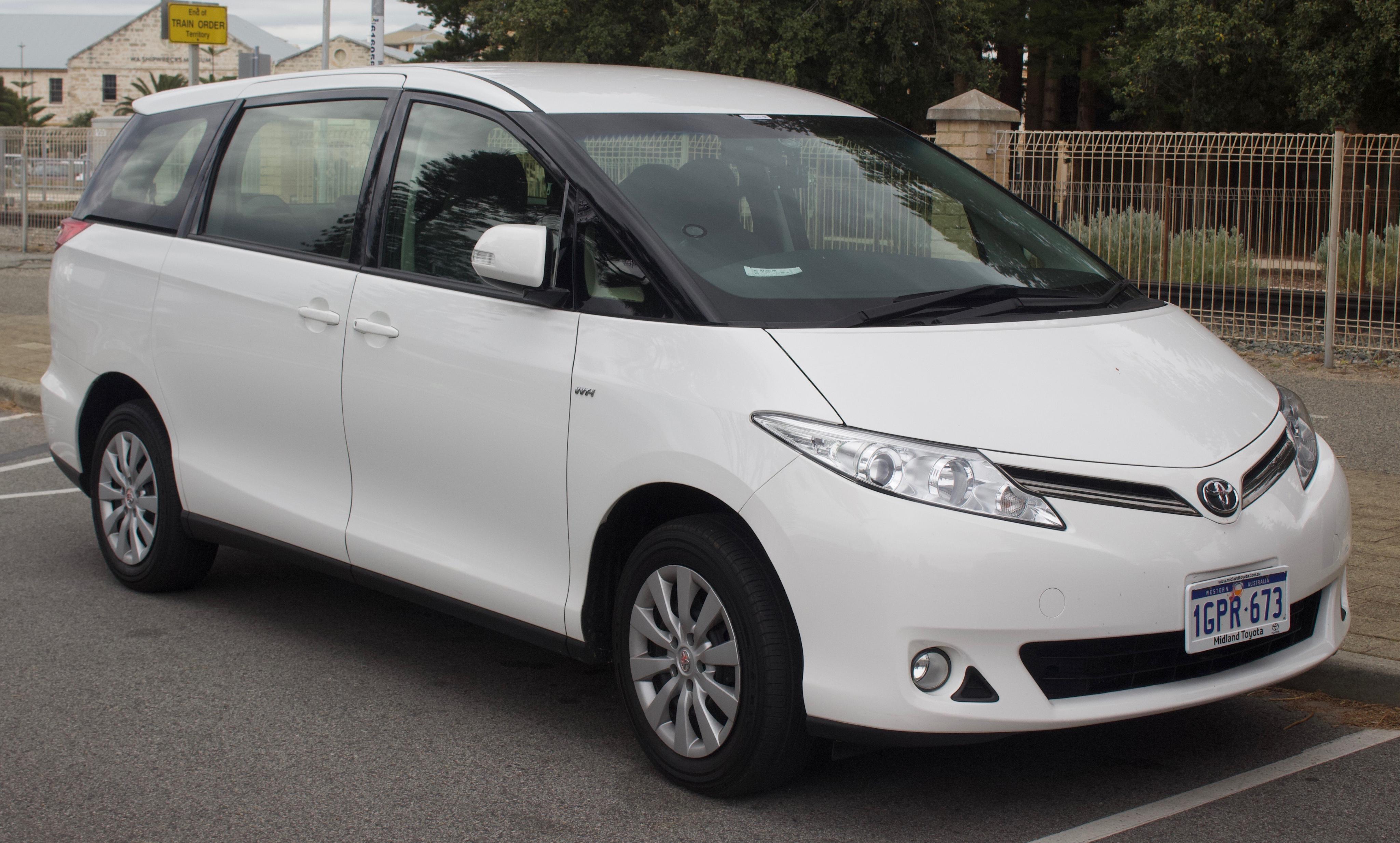 Toyota Of Midland >> Tiedosto 2015 Toyota Tarago Gsr50r Gli Van 2018 10 01 01