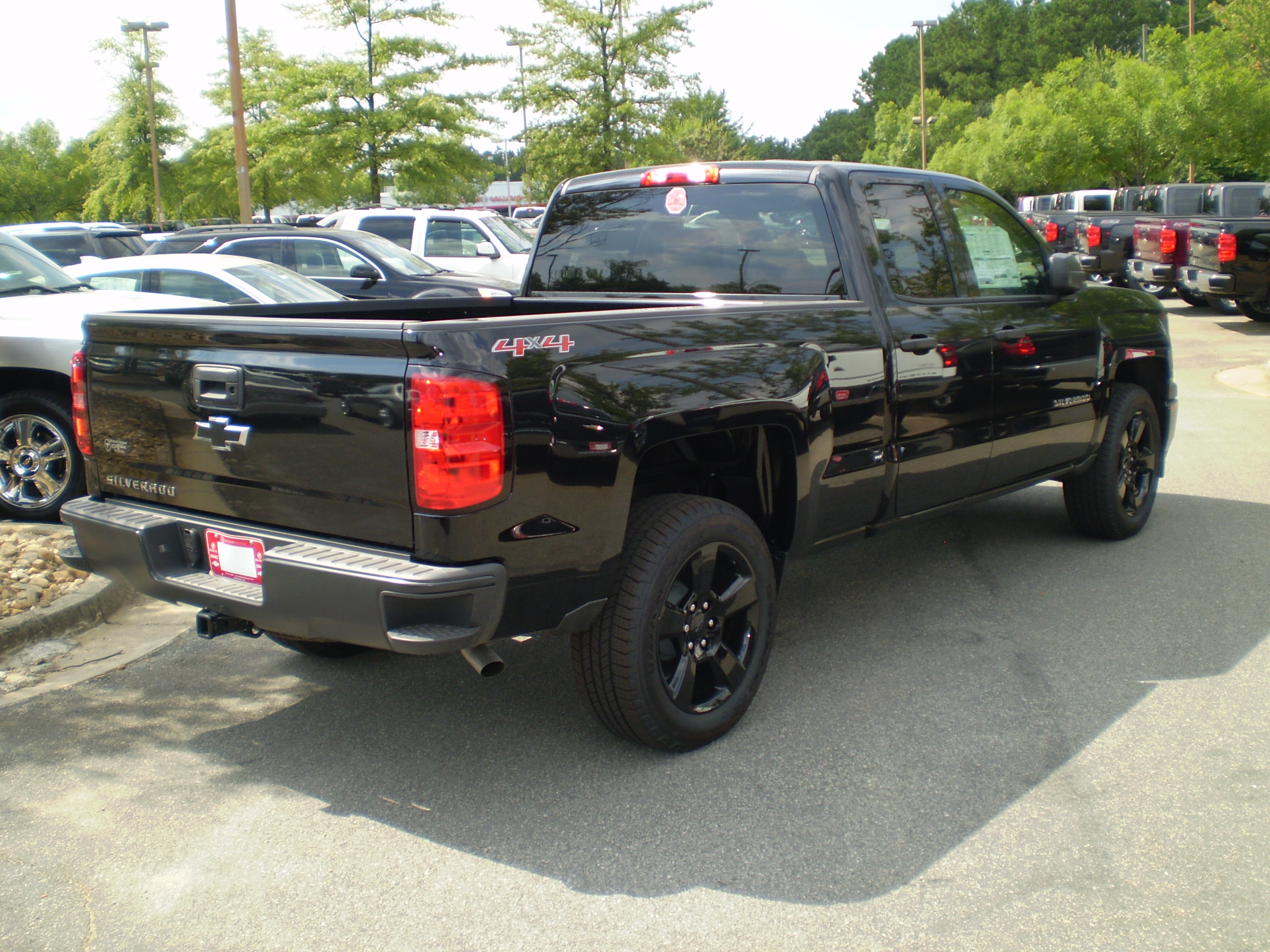 edition black wt silverado in out chevrolet jet car cab double