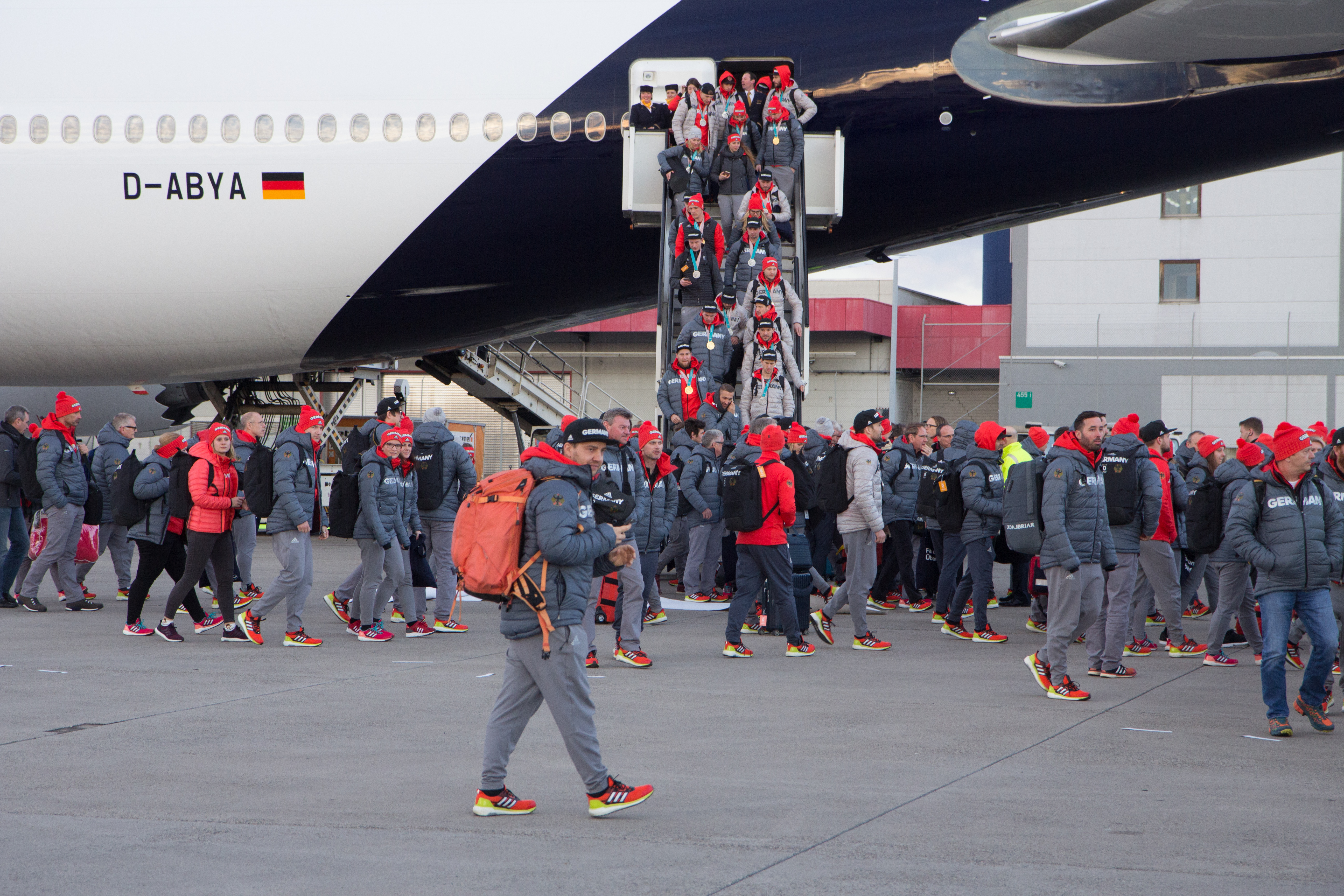 ankunft flughafen frankfurt main